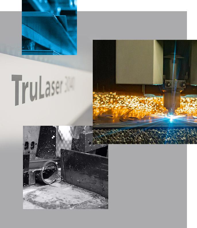 découpe laser transformation métal